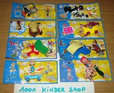 "KINDER LOONEY TOONS TUNES SHOW ""DC"" - SERIE COMPLETE SET + BPZ VARIANTE BE"