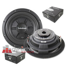 "2 Rockford Fosgate R2SD412 Shallow Mount 12"" Subwoofers 1,000W D4 Subs Pair New"