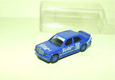 MERCEDES 190 E 2.3-16 Version Course Bleu HERPA 1/87 HO
