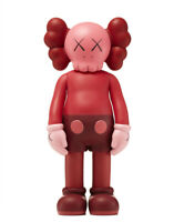 Sealed KAWS Companion 400% Open Edition Vinyl Figure Blush Limited Edition 2017