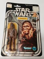 Star Wars Chewbacca MOC 12 back orginal Kenner Vintage 1977