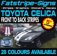 TOYOTA CELICA STRIPES GRAPHICS STICKERS DECALS VVTI GT SPORT TRD 1.8 T200 T230