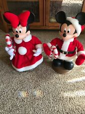 Christmas Disney Mickey & Minnie Mouse Santa's Best Holiday Animation Figure