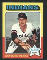 1975 Topps Mini #530 Gaylord Perry NM/NM+ Indians 124248