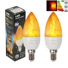Flickering Flame Edison Bulbs 220V Bathroom Kitchen Candle Lights E27//E14 3876