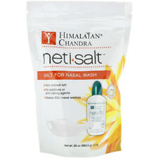 2x Himalayan Institute Neti Salt Eco Refill Non Iodized Sinus Health Body Care