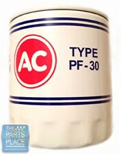 AC PF-30 Oil Filter Decal Decal Only
