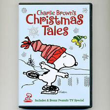 2 Charlie Brown's Christmas Tales 2002 holiday Peanuts TV special, new DVD Tree