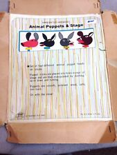 Wooden Puppet Stage Play