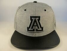 Arizona Wildcats NCAA Zephyr Snapback Hat Cap Gray Black