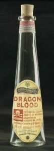 NEW SET OF 6 DRAGON'S BLOOD APOTHECARY POTION MEDICINE BOTTLES WITH CORK 22cm