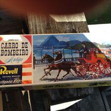 Revell H-701 Carro De Bombeiro 'Antigo' 1:48 Scale Horse Drawn Steamer  (6'f*)