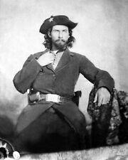 Confederate Guerrilla Leader WILLIAM ANDERSON 'Bloody Bill' 8x10 Photo Civil War