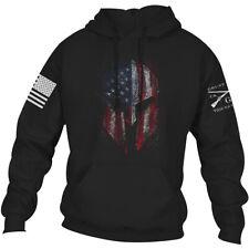 Grunt Style American Spartan 2.0 Pullover Hoodie - Black
