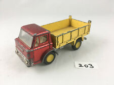 EARLY DINKY TOYS #438 FORD D800 TIPPER DUMP TRUCK LORRY DIECAST 1970 YELLOW HUBS