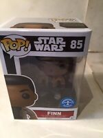 Funko Pop Star Wars Finn Vinyl Figure #85 Underground Exclusive