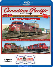 Canadian Pacific Railway Vol 2 Wisconsin BLURAY River Jct La Crosse to Milwaukee