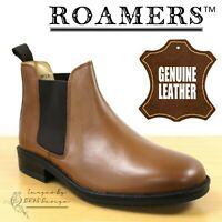 Scimitar M353BT Tan Mens Casual Comfort Slip On Shoes