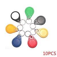 10PCS RFID IC Key Tags Keyfobs Token NFC TAG Keychain 13.56MHz new