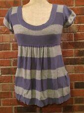 Womens Loose Blouse Girl Medium Purple School Wear Flattering Possible Maternity