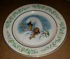 Avon Gentle Moments Collector'S Plate 1975 Swan & Baby By Enoch Wedgwood England