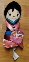 "New Disney Princess Mini Mulan 6"" Plush Bean Small Soft Movie Doll NWT"