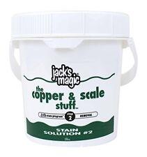Jack's Magic Jacks Magic Stain Solution 2 Jmcopper5 Pool Supply New