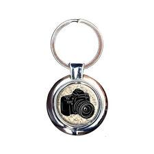 Photographers Camera Keychain Key Ring