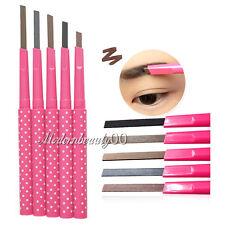 Waterproof Long Lasting Eyebrow Pencil Liner Cosmetic Makeup Tool Black Brown