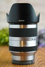 Sony SEL18200 18-200mm F3.5-6.3 OSS E-mount Zoom Lens Silver