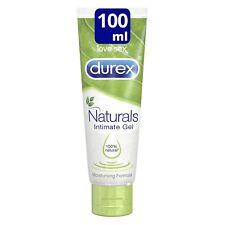 New DUREX Naturals Intimate Gel Lubricant 100ml Water Based 100% Natural