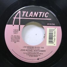 90'S Country 45 John Michael Montgomery - Love Working On You / Angel In My Eyes