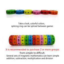 Axis Magnetic Mathematics Arithmetic Learning Kids Puzzle Educational Toys Gift