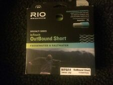New Rio InTouch Outbound Short Wf6F/I Fly Line for Freshwater or Saltwater