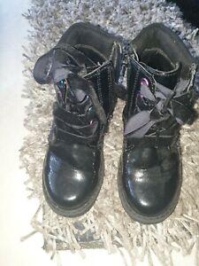 Girls  Autumn Winter Boots Size 10