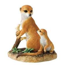 Country Artists Devotion Meerkat & Pup Figurine New Boxed CA03676