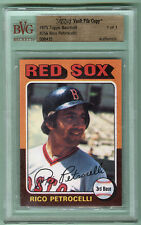 1975 Topps #356 Rico Petrocelli BVG File Vault Copy 1/1 (1 of 1)