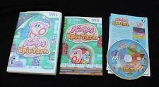 Nintendo Wii Kirby's Epic Yarn game complete