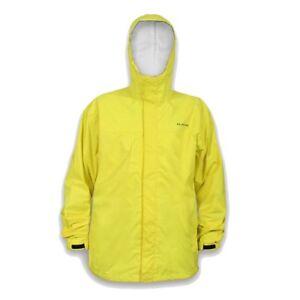 Grundens Gage Storm Runner Waterproof Fishing Jacket - Hi Vis Yellow - All Sizes
