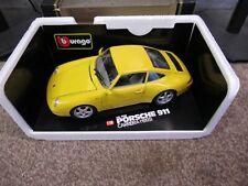 BURAGO Porsche 911 Carrera 1993  1:18 Scale CAR