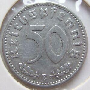 50 Reichspfennig 1941 E in Sehr schön !!!