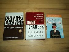 3 Business Innovation Books Driving Change UPS & Game-Changer Rubies in Orchard