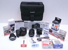 Canon EOS Rebel T7 24.1 MP Digital SLR Camera w/ 18-55 IS II Lens & Accessories