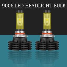 Dual Color 9006 HB4 9012 LED Headlight Bulbs 1800W 295000LM 6000K 3000K Fog Lamp