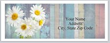 Personalized Address Labels Daisies Flowers Buy 3 get 1 free (bx 234)