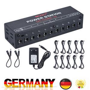 Netzteil Effektgerät Bass Gitarren Netzteil 9V 12V 18V Effekt Pedal Power I9R5
