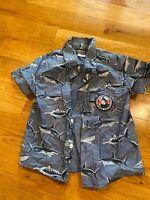 Toddler Boys Boyz Wear Button Down Short Sleeve Shirt, Size 2T, VS
