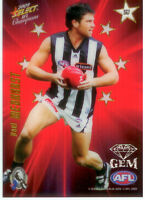 2009 Select AFL Champions Stars Red Gem Card SG7: Paul Medhurst (Collingwood)