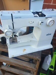Vintage Elna  supermatic sewing machine faulty