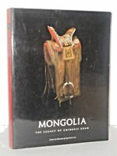 Mongolia: The Legacy of Chinggis Khan by Patricia Ann Berger + 2 phamphlets